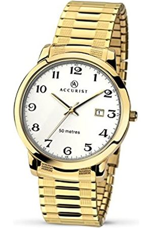 Accurist Mens Analogue Classic Quartz Watch with Stainless Steel Strap 7081