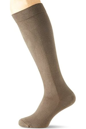 bellycloud Belly cloud Men's Herren Stütz-Kniestrümpfe 140den Support Stockings, Grau (Grau 053)