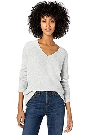 Goodthreads Mid-gauge Stretch V-neck Sweater Soft Heather