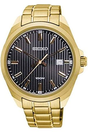 Seiko Mens Analogue Quartz Watch with Stainless Steel Strap SUR282P1