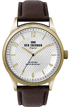 Ben Sherman Mens Analogue Classic Quartz Watch with Leather Strap WB025TG