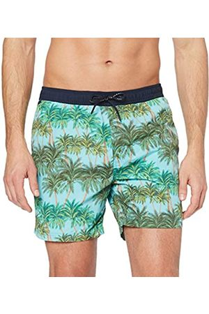Scotch&Soda Men's Classic Swimshort with Summer All-Over Print Short