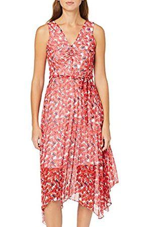 Dorothy Perkins Women's Penelope Tie Shoulder Pleat Skirt Dress