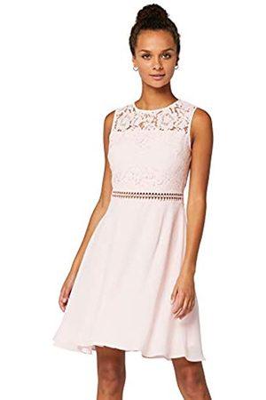 TRUTH & FABLE Amazon Brand - Women's Mini Lace A-Line Dress, 20