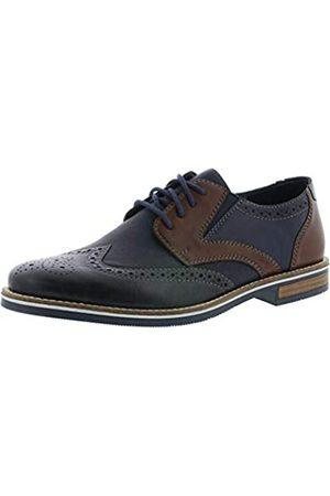 Rieker 13520 Men Business Shoes,Low Shoe,lace-up Shoe,Derby Lacing,Business Shoe,Suit Shoe,Dress Shoe,Office,ozean/ozean/16