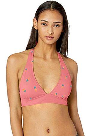 Amazon Tie Halter Bikini Top Pineapple