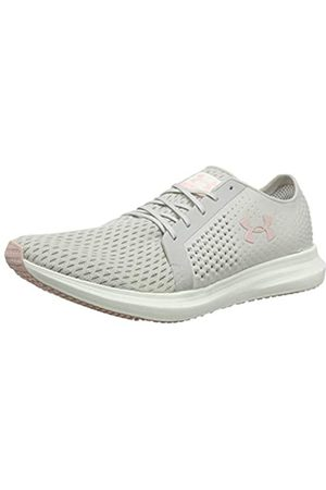 Under Armour Women's Ua W Sway Competition Running Shoes, (Ghost Gray/Ivory/ Flushed 108)