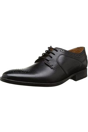 Clarks Men's Kalden Edge Lace-Up Flats, ( Leather)