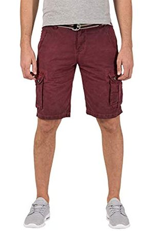 Timezone Men's Loose Maguiretz Cargo Shorts Incl. Belt