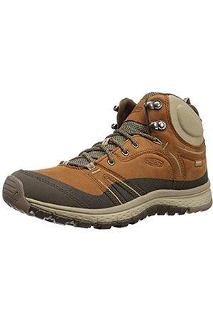 Keen Women's Terradora Mid En Cuir, Imperméable High Rise Hiking Shoes, ( Timber/Cornstalk 200)