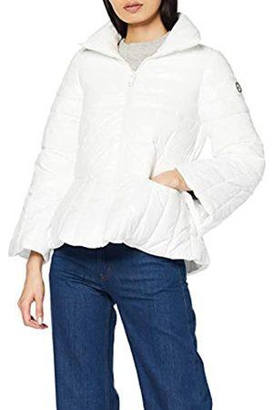 Armani Women's Turtle Neck Zip Coat Bomber Jacket