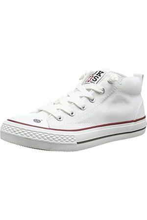 Dockers 38ay603-710500, Unisex Kids' Hi-Top Sneakers, (Weiss 500)