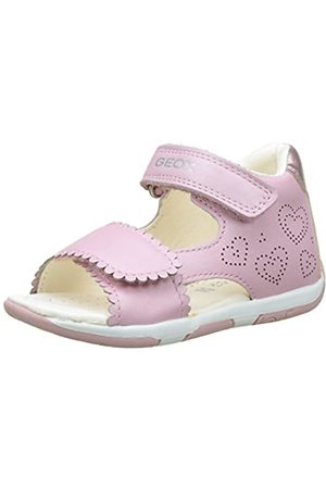 Geox Tapuz Girl B, Baby Girls's Sandals, (LT C8010)