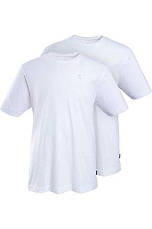 JP 1880 Men's Big & Tall 2-Pack Basic Short Sleeve Tees