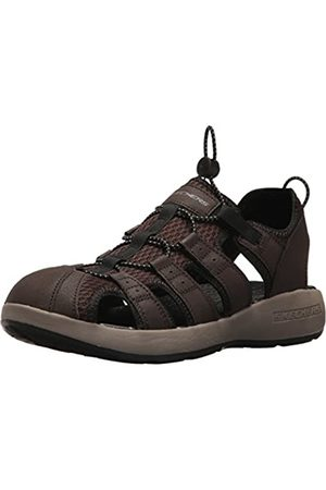 Skechers Men 51834 Open Toe Sandals, ( Leather/Mesh/ Trim)