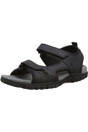 Geox Men's Strada A Platform Sandals