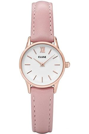 Cluse Womens Analogue Classic Quartz Connected Wrist Watch with Leather Strap CL50010