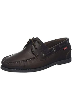 Chatham Men's Galley II Boat Shoes, (Dark Coffee 001)