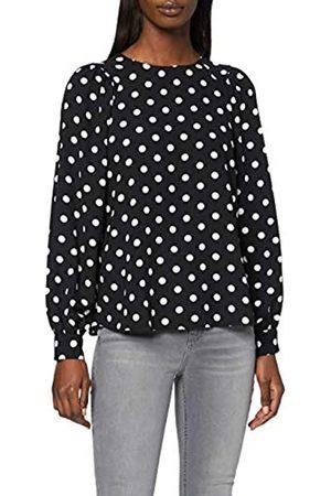 Dorothy Perkins Women's & Ivory Ballon Sleeve Top Blouse