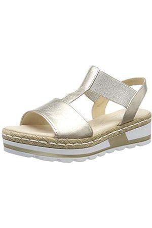 Gabor Shoes Women's Comfort Sport Ankle-Strap, (Muschel (Jute) 89)