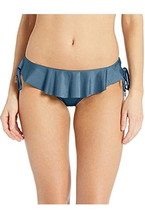 Seafolly Women's Tie Side Hipster Bikini Bottom Swimsuit with Ruffle Front