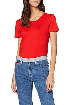 Tommy Hilfiger Women's Tjw Soft Jersey Tee Sports Knitwear