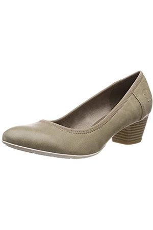 s.Oliver Women's 5-5-22301-22 Closed-Toe Pumps, (Pepper 324)