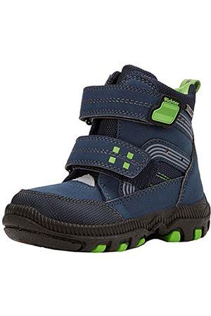 Richter Kinderschuhe Boys' Blinki (Tundra) Snow Boots, (Atlantic/silbe/Grass 7201)
