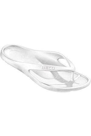 Beco Unisex Toe Slippers, (weiß)