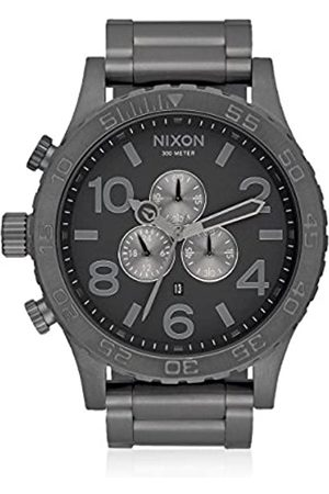 NIXON Mens Chronograph Quartz Watch with Stainless Steel Strap A083-632-00