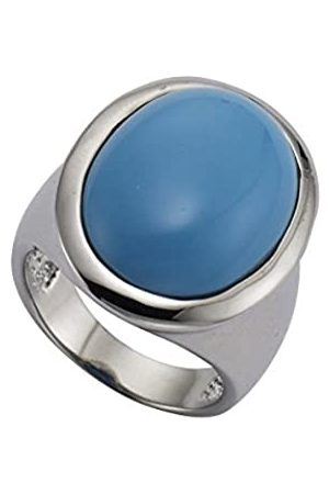 Zeeme 360070039-060 Women's Ring - Brass and Turquoise Turquoise