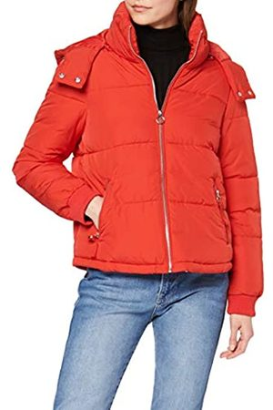 Miss Selfridge Women's Sporty Puffer Quilted Jacket