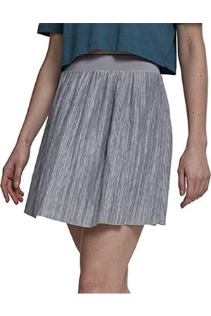 Urban classics Women's Ladies Jersey Pleated Mini Skirt