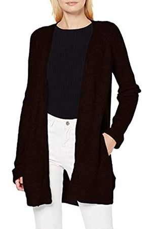 Pieces Women's Pcellen Ls Long Knit Cardigan Noos