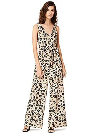 TRUTH & FABLE Amazon Brand - Jumpsuits Women Animal Print, 18