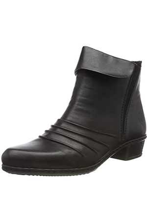 Rieker Women's Herbst/Winter Ankle Boots, (Schwarz/Schwarz / 00 00)