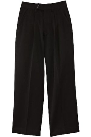 Blue Max Banner Boy's Putney Pleated with Fly School Trousers