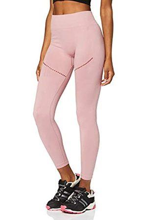 AURIQUE Amazon Brand - Women's Seamless Sports Leggings, 14