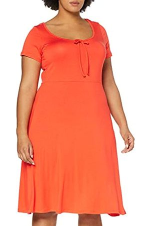 Dorothy Perkins Curve Women's Scoop Back Jersey MIDI Dress