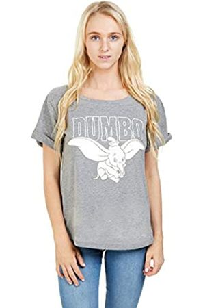 Disney Women's Dumbo Flying T-Shirt