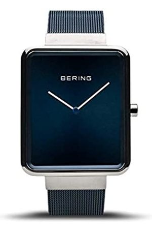Bering Unisex Analogue Quartz Watch with Stainless Steel Strap 14533-307
