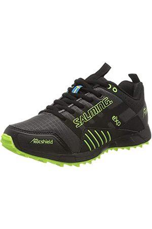 Salming Women's Trail T4 Trailschuh Damen-Dunkelgrau, Schwarz Running Shoe, Forged Iron/
