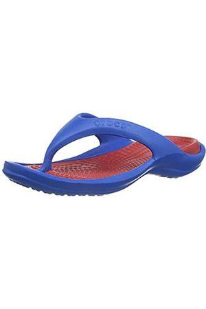 Crocs Unisex-Adult's Athens Flip Flops, (Bright Cobalt/Pepper 4kn)