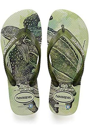 Havaianas Unisex's Conservation International Flip Flops, (Apple )