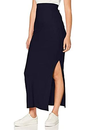 MERAKI Amazon Brand - Women's Lightweight Rib Maxi Skirt