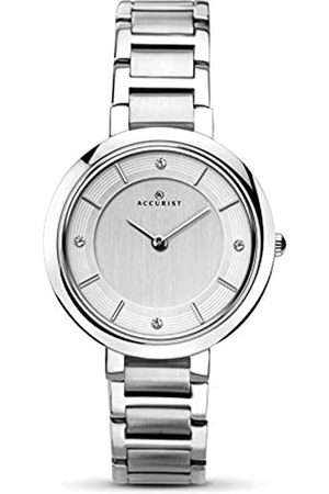 Accurist Womens Analogue Classic Quartz Watch with Stainless Steel Strap 8150.01