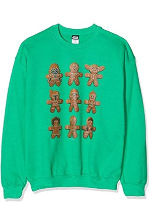 STAR WARS Men's Christmas Gingerbread Characters Sweatshirt