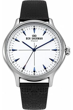 Ben Sherman Mens Analogue Classic Quartz Watch with Leather Strap WB018S