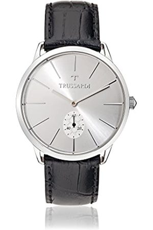 Trussardi Mens Analogue Quartz Watch with Leather Strap R2451116004