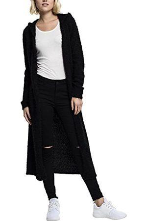 Urban classics Women's Ladies Hooded Feather Cardigan